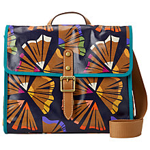 Buy Fossil Key-Per Fold-Over Satchel Bag Online at johnlewis.com