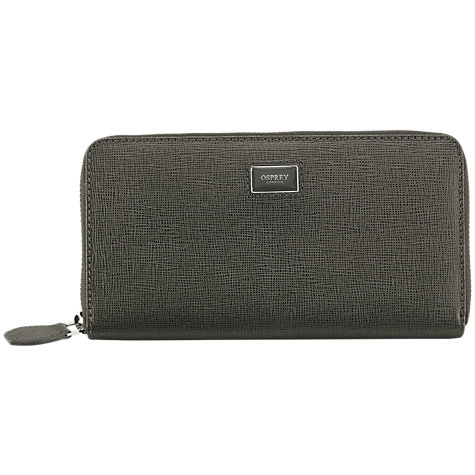 Buy OSPREY LONDON The Large Gaumont Leather Purse Online at johnlewis.com
