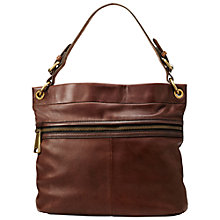 Buy Fossil Explorer Leather Hobo Bag Online at johnlewis.com