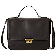Buy Fossil Memoir Novel Leather Across Body Handbag Online at johnlewis.com
