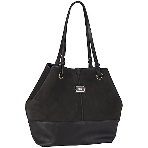 Buy UGG Gracie Shearling Leather Tote Bag Online at johnlewis.com