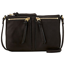 Buy Fossil Erin Small Top Zip Shoulder Bag Online at johnlewis.com