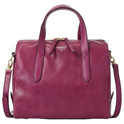 Buy Fossil Sydney Satchel Handbag Online at johnlewis.com