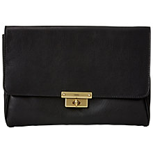 Buy Fossil Memoir Diary Clutch, Black Online at johnlewis.com