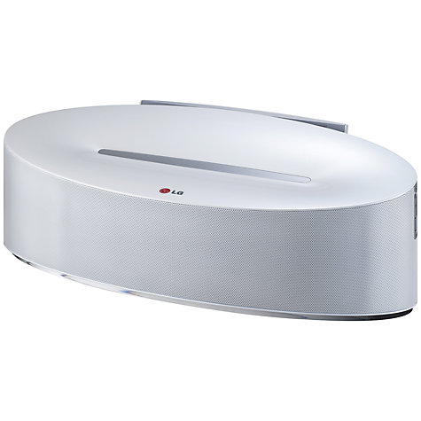 Buy LG ND5630 Bluetooth Speaker Dock with NFC, Wi-Fi, Apple Lightning, Apple AirPlay and Android Docking Online at johnlewis.com