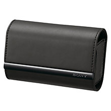 Buy Sony LCS-TWJ Camera Case for W,T & J Series Cameras, Black Online at johnlewis.com