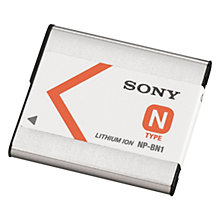 Buy Sony NP-BN1 Li-ion Battery for Sony W and TF Cameras Online at johnlewis.com
