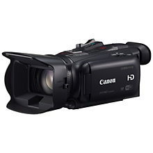 "Buy Canon LEGRIA HF G30 HD 1080p Camcorder, 2.91MP, 20x Optical Zoom, Wi-Fi, 3.5"" OLED Touch Screen, Black with FREE Integral Ultima SDHC 16GB + 8GB Memory Card Online at johnlewis.com"