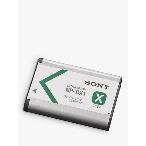 Buy Sony NP-BX1 Rechargeable Digital Camera Battery Online at johnlewis.com