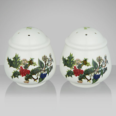 Buy Portmeirion The Holly & The Ivy Salt and Pepper Set Online at johnlewis.com