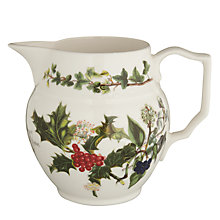 Buy Portmeirion The Holly & The Ivy Staffordshire Jug Online at johnlewis.com