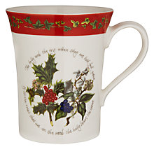 Buy Portmeirion The Holly & The Ivy Mug Online at johnlewis.com