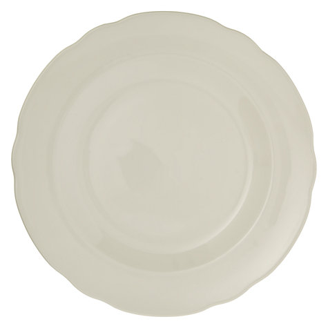 Buy Spode Rural Delamere for John Lewis Dessert Plate, Dia.20cm, White Online at johnlewis.com