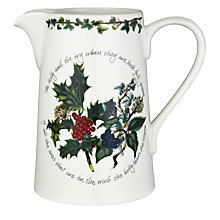 Buy Portmeirion The Holly & The Ivy Jug Online at johnlewis.com