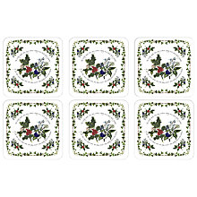 Buy Portmeirion The Holly & The Ivy Placemats & Coasters Online at johnlewis.com