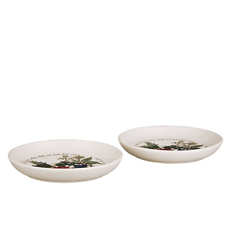 Buy Portmeirion The Holly & The Ivy Sweet Dish, Set of 2 Online at johnlewis.com