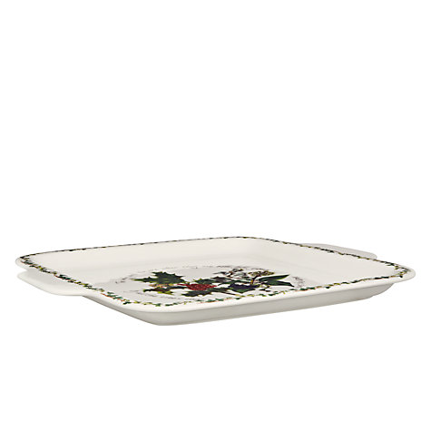 Buy Portmeirion The Holly & The Ivy Cake Plate Online at johnlewis.com