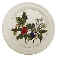 Buy Portmeirion The Holly & The Ivy 25cm Dinner Plate Online at johnlewis.com