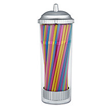 Buy BarCraft Drinking Straw Dispenser with 100 Straws Online at johnlewis.com