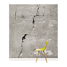 Buy Surface View Cracked Concrete Wall Mural, 240 x 265cm Online at johnlewis.com