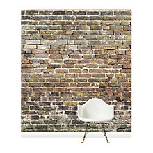 Buy Surface View Old Bricks Wall Mural, 240 x 265cm Online at johnlewis.com