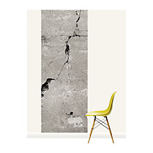 Buy Surface View Cracked Concrete Wall Mural, 100 x 265cm Online at johnlewis.com