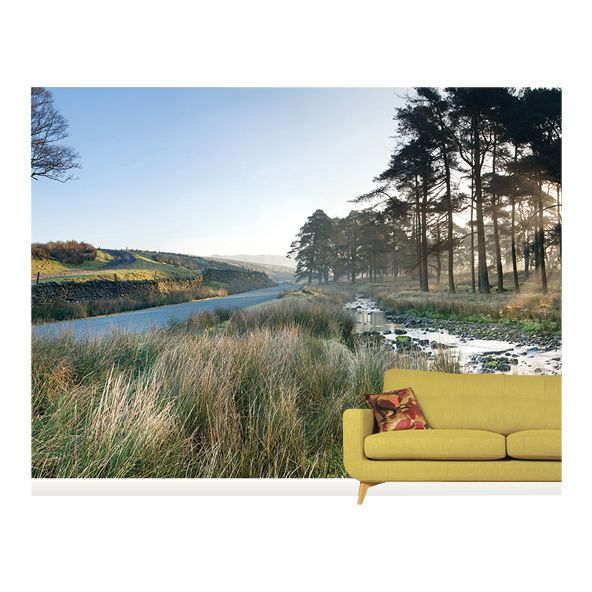Surface View Surface View Forest of Bowland Wall Mural, 360 x 265cm