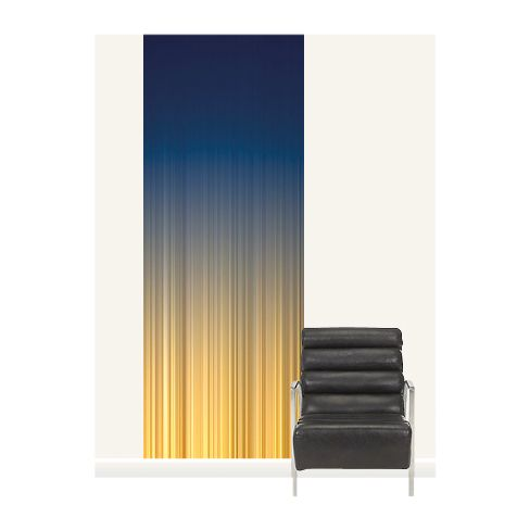 Surface View Surface View Kinetic Field 1 Wall Mural, 100 x 265cm