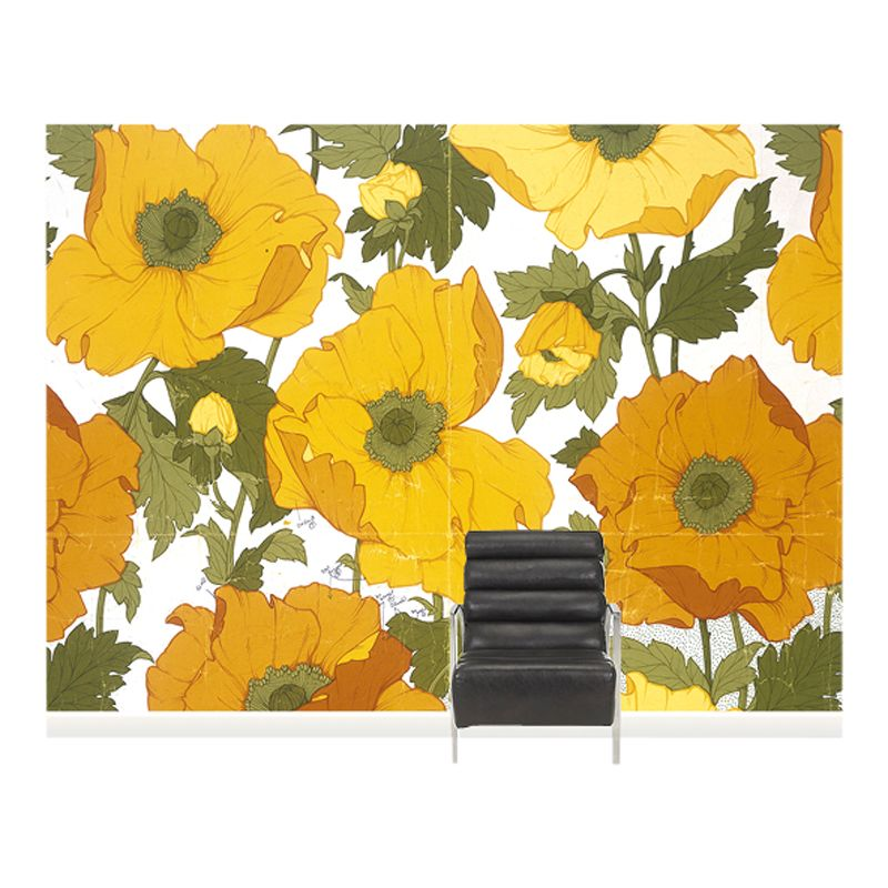 Surface View Surface View Summer Poppies Wall Mural, 360 x 265cm
