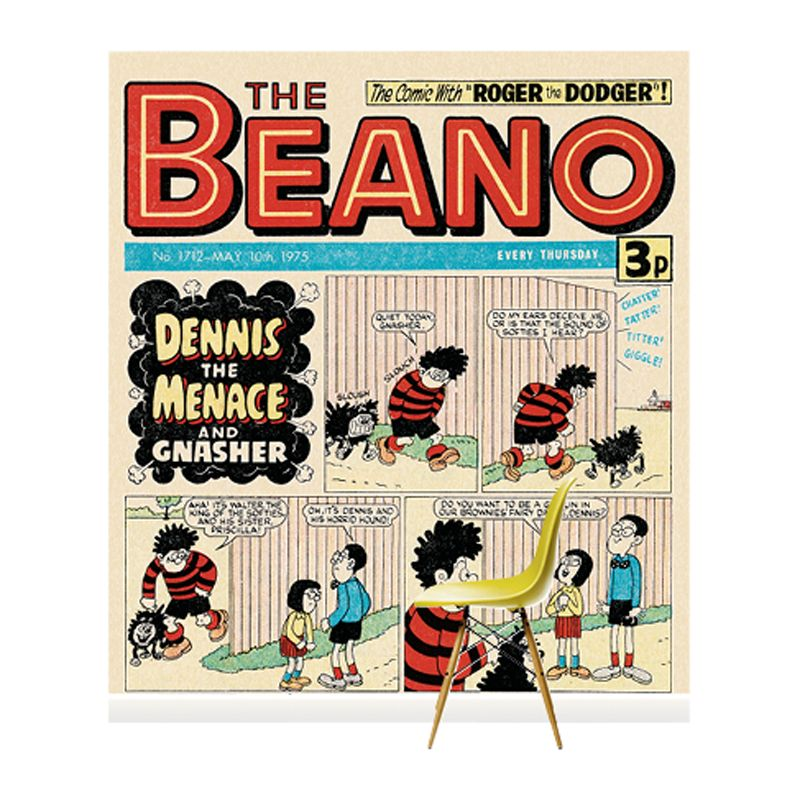 Surface View Surface View Beano Walter And Priscilla Wall Mural, 240 x 265cm