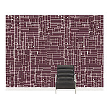 Buy Surface View Small Computer Grid Wall Mural, 360 x 265cm Online at johnlewis.com