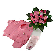 Buy Babuqee Classic Bouquet, Pink Online at johnlewis.com
