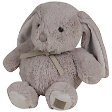 Buy Histoire d'Ours 28cm Rabbit, Pearl Grey Online at johnlewis.com