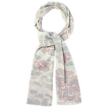 Buy White Stuff Spotty Flower Scarf, Off White Online at johnlewis.com