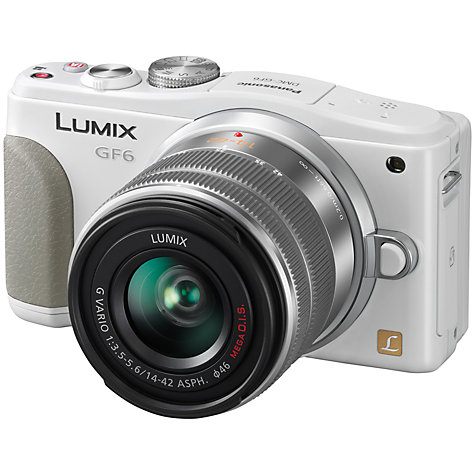 "Buy Panasonic Lumix DMC-G5K Compact System Camera with 14-42mm Lens, HD 1080p, 16MP, 3"" Flip Screen Online at johnlewis.com"