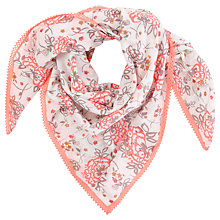 Buy White Stuff Pretty Me Scarf, Off White Online at johnlewis.com