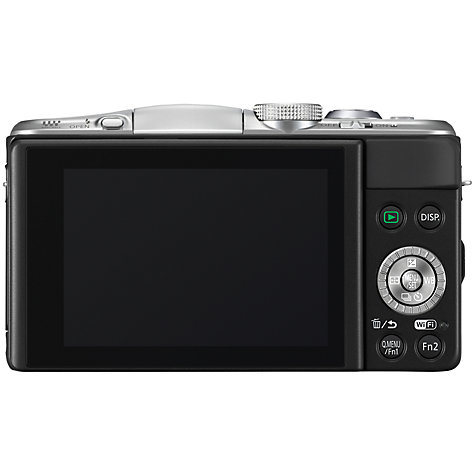 "Buy Panasonic DMC-GF6 Compact System Camera with 14-42mm Lens, HD 1080p, 16MP, Wi-Fi, NFC, 3"" Tiltable Touch Screen Online at johnlewis.com"