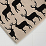 Buy Anorak Kissing Stags Bath Mat, Grey Online at johnlewis.com