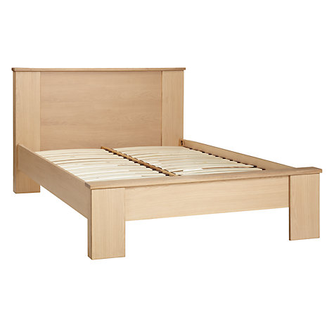 Buy John Lewis Keep Oak Bedstead, Double, Oak Online at johnlewis.com