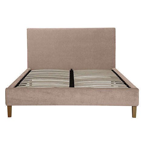 Buy John Lewis Emily Bedstead, Mink, Kingsize Online at johnlewis.com
