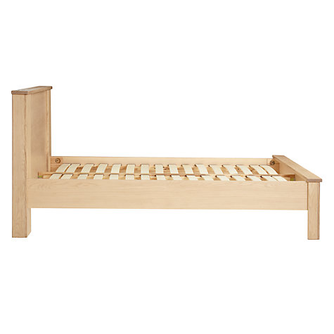 Buy John Lewis Keep Oak Bedstead, Super Kingsize, Oak Online at johnlewis.com