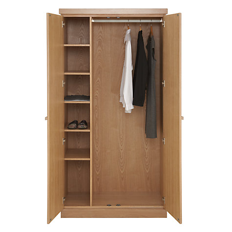 Buy John Lewis Keep Oak 2 Door Wardrobe, Oak Online at johnlewis.com