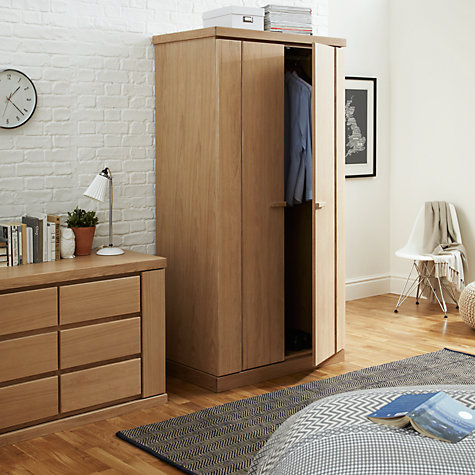 Buy John Lewis Keep Oak 3 Drawer Chest, Oak Online at johnlewis.com