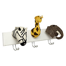 Buy Scandi-chic Jungle Animal Coat Hooks Online at johnlewis.com