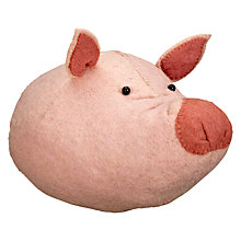 Buy Scandi-chic Pig Wall Mounted Animal Head Online at johnlewis.com