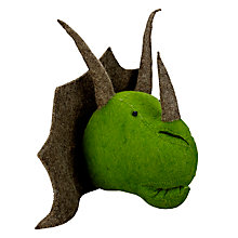 Buy Scandi-chic Triceratops Wall Mounted Dinosaur Head Online at johnlewis.com