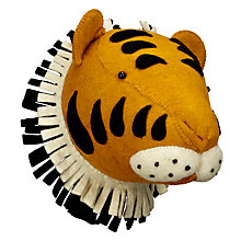 Buy Scandi-chic Tiger Wall Mounted Animal Head Online at johnlewis.com
