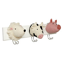 Buy Scandi-chic Farm Animal Hooks Online at johnlewis.com