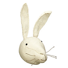 Buy Scandi-chic Rabbit Wall-Mounted Animal Head Online at johnlewis.com