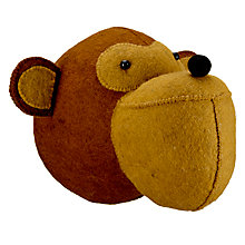 Buy Scandi-chic Monkey Wall Mounted Animal Head Online at johnlewis.com